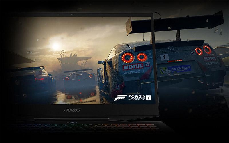 AORUS 15-XA Gaming Laptop Screen Display