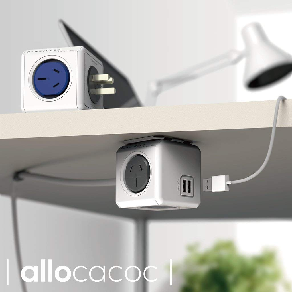 Allocacoc Powercube Extended Lifestyle Shot