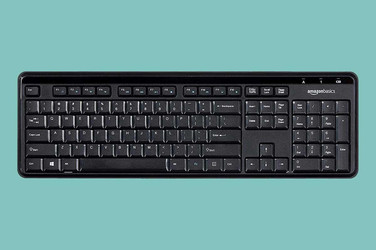 Amazon Basics Keyboard Review