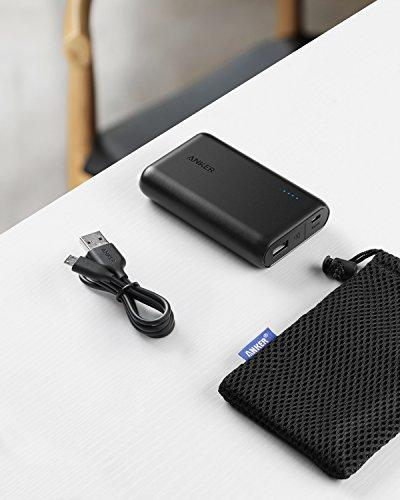 Anker PowerCore 10000 On Table