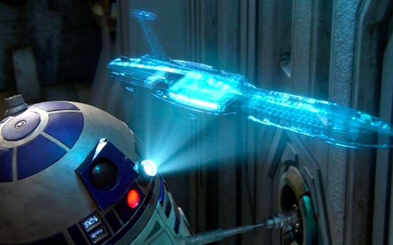 Star Wars 3D Holo Display