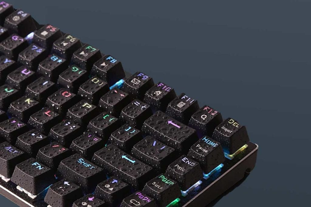 E Element Z 88 RGB Mechanical Gaming Keyboard WaterResistant
