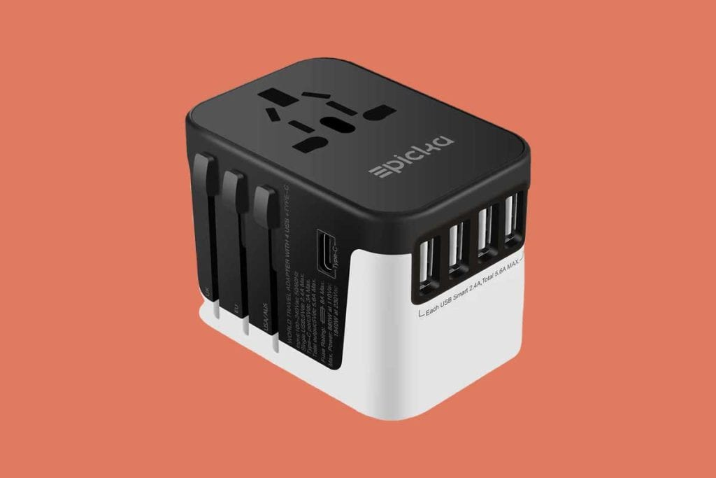 EPICKA Universal Travel Adapter Review Feature