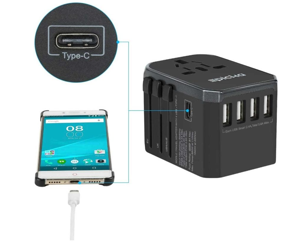 EPICKA-Travel-Adapter-Review-USB-C