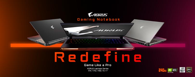 The New Range of Gigabyte Aeron Gaming Laptops