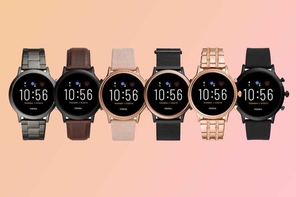 Fossil Smartwatch Gen 5 Different Styles