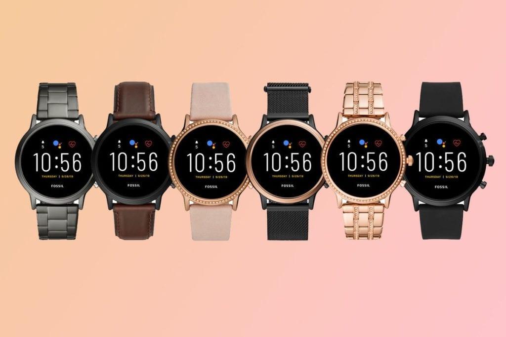 Fossil Smartwatch Gen 5 Different Styles