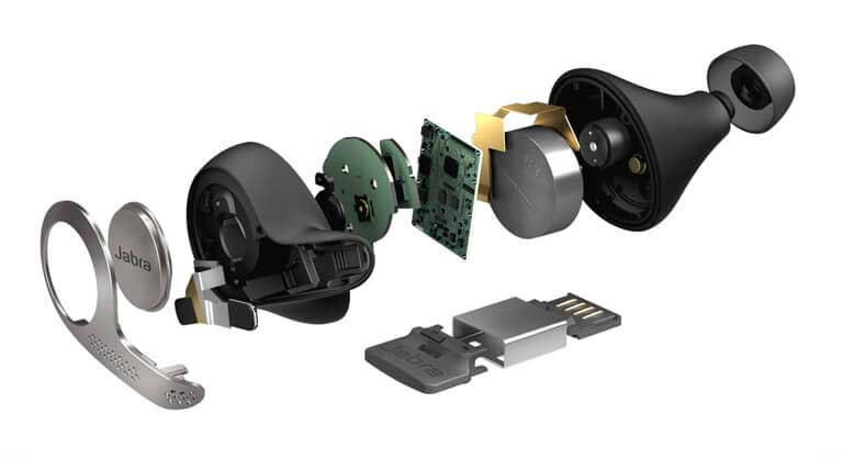 Jabra 65t Exploded View