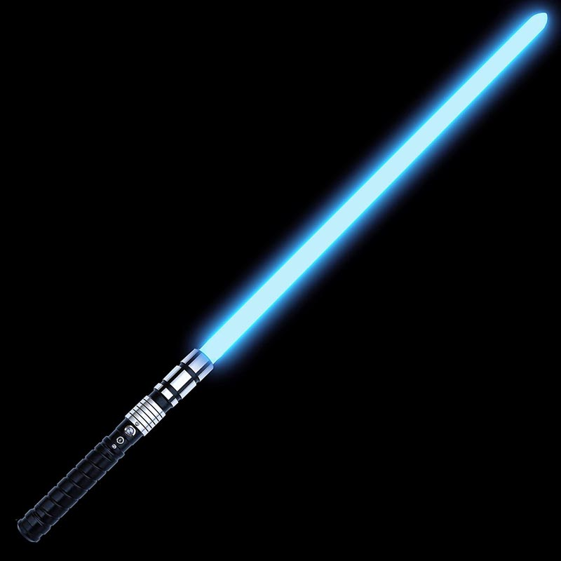 KYBERS Standard Series Shien RGB 11 Colors LED Changeable Metal Aluminum Hilt Lightsaber with 5 Sound Fonts