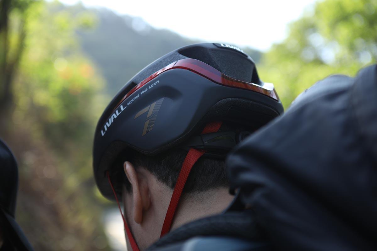 LIVALL EVO21 Back of Bike Helmet