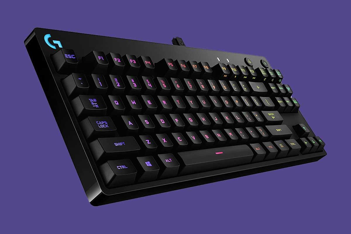 Logitech G Pro X Keyboard Close Up