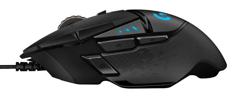 Logitech-G502-HERO-Side