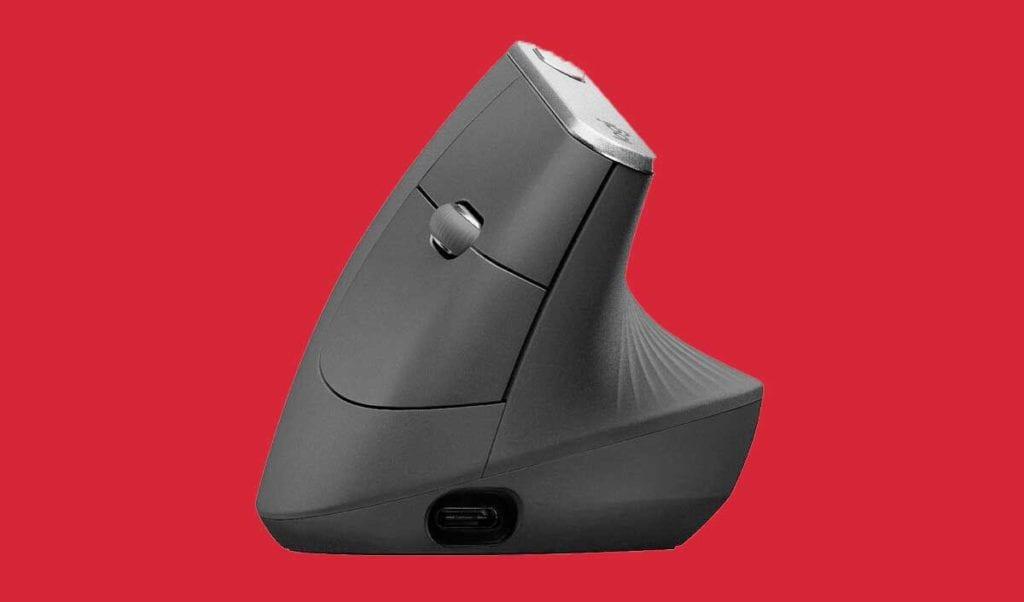 Logitech MX Vertical Ergonomic mouse features