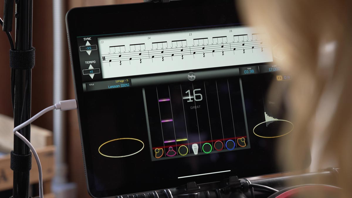 MOPlay Smart Drum D3 Features
