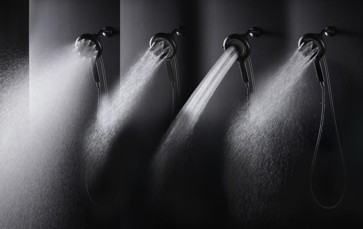 Nebia Shower 4 Different Sprays