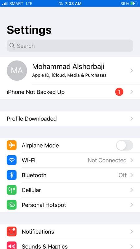 New Tutu App Profile Downloaded
