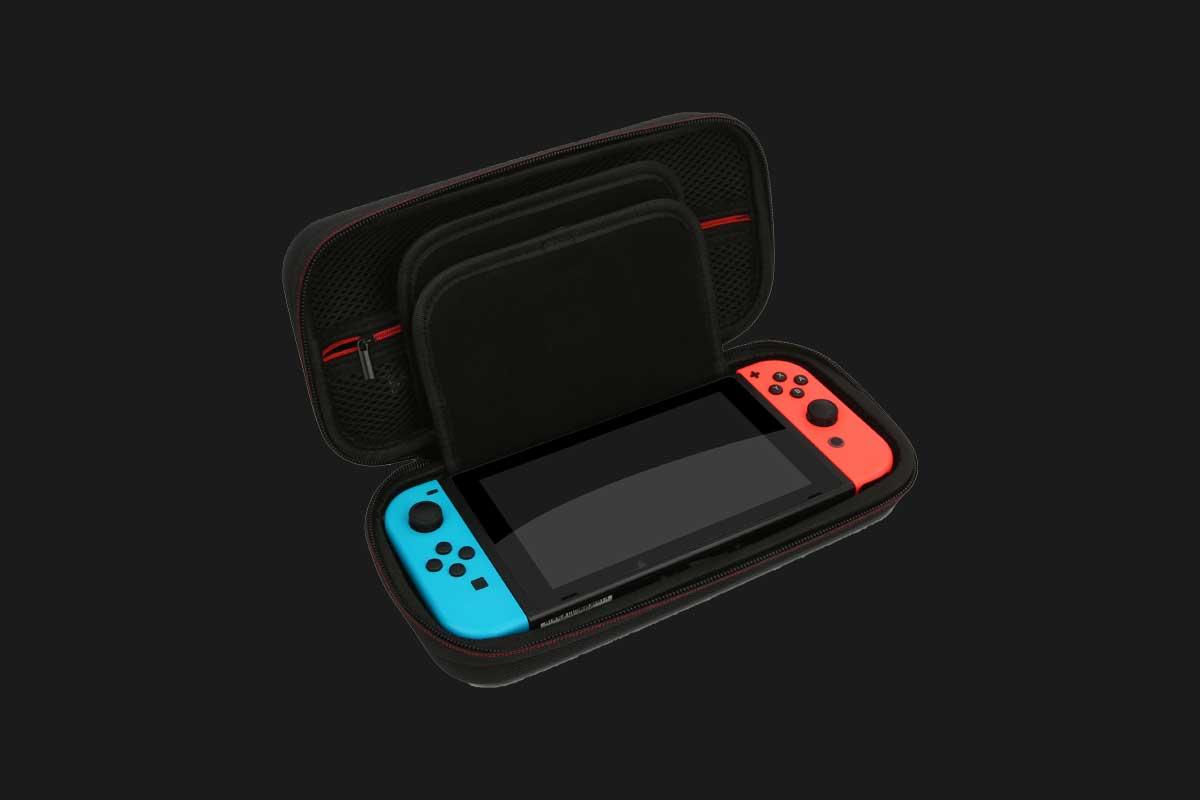 NexTemplo carrying case open