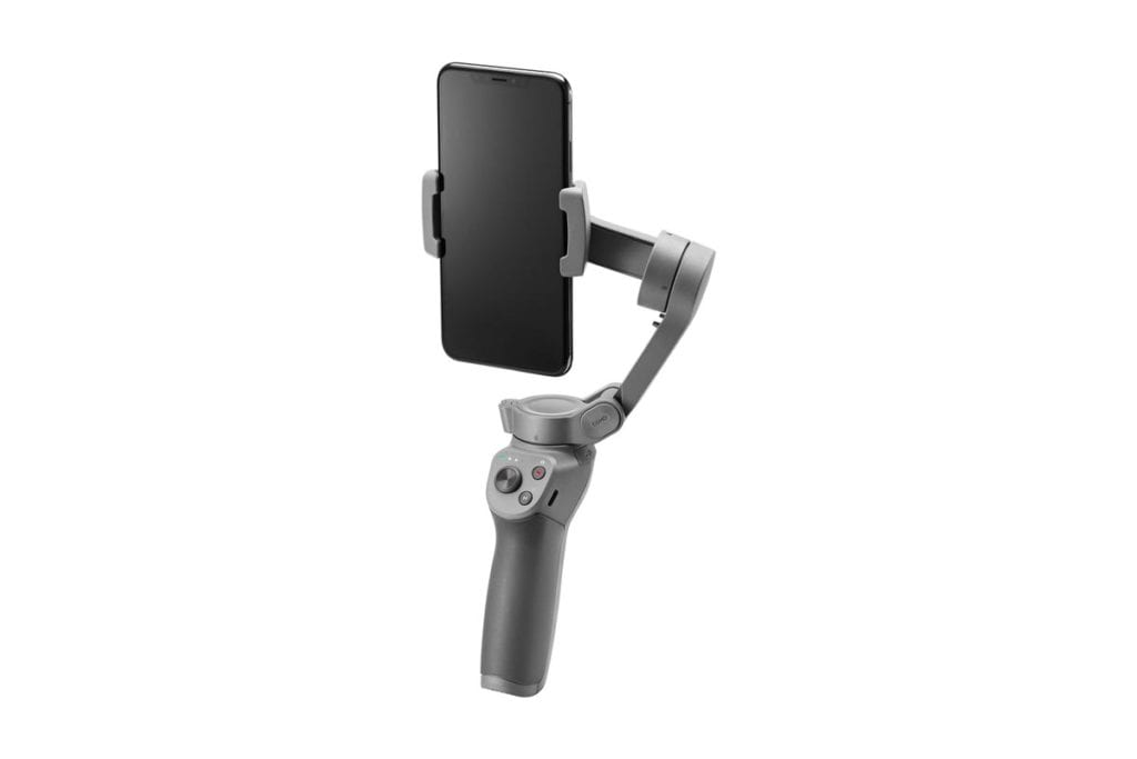 OSMO 3 Mobile Product Shot Side Angle