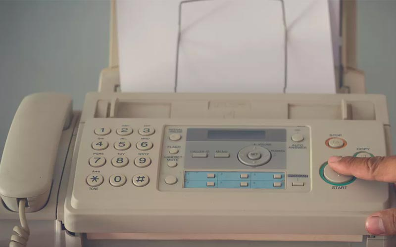 Old Technology - Fax Machines