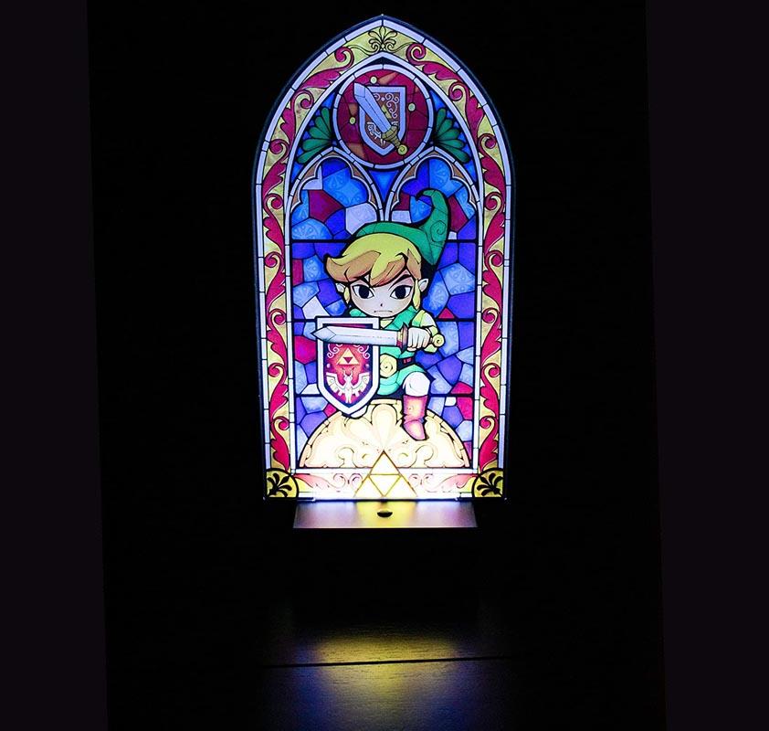 Paladone Nintendo Legend of Zelda Link's Decor Light - Collectible Lamp