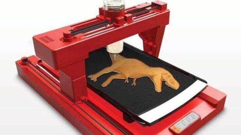 Pancakebot Dinosaur