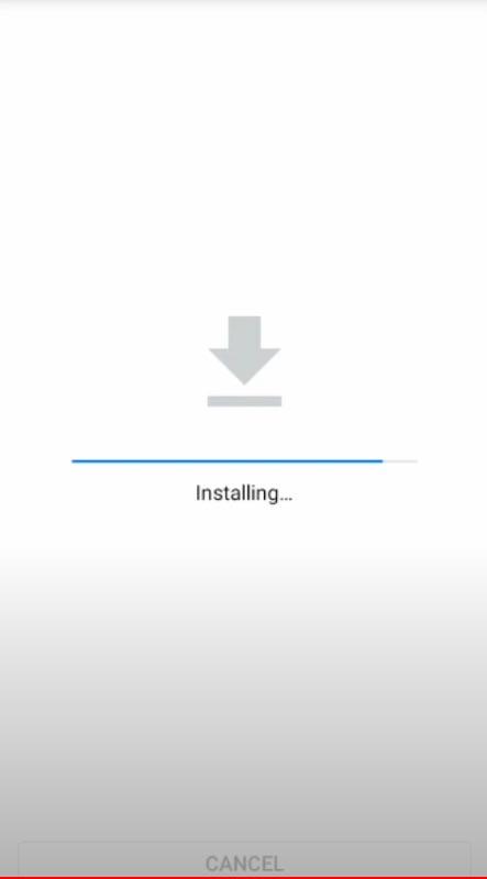 Panda Helper Installing on Android