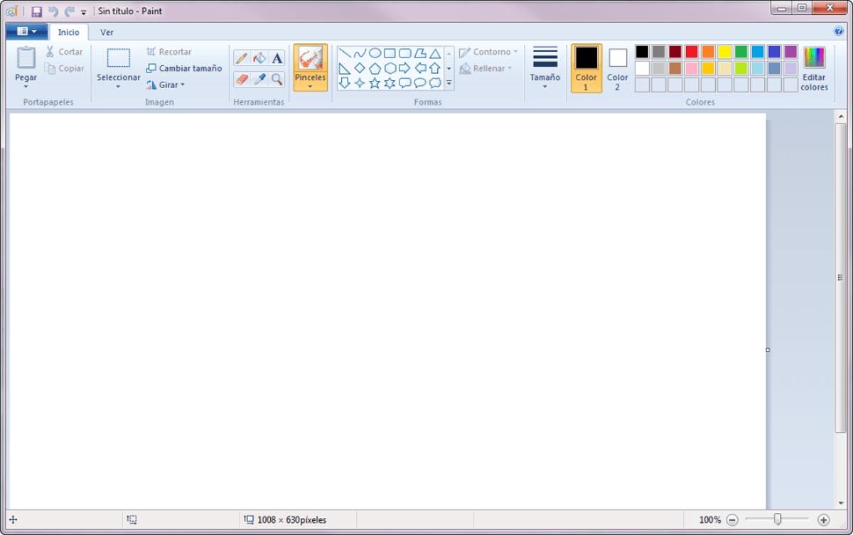 Pasting a screenshot into Microsoft Paint