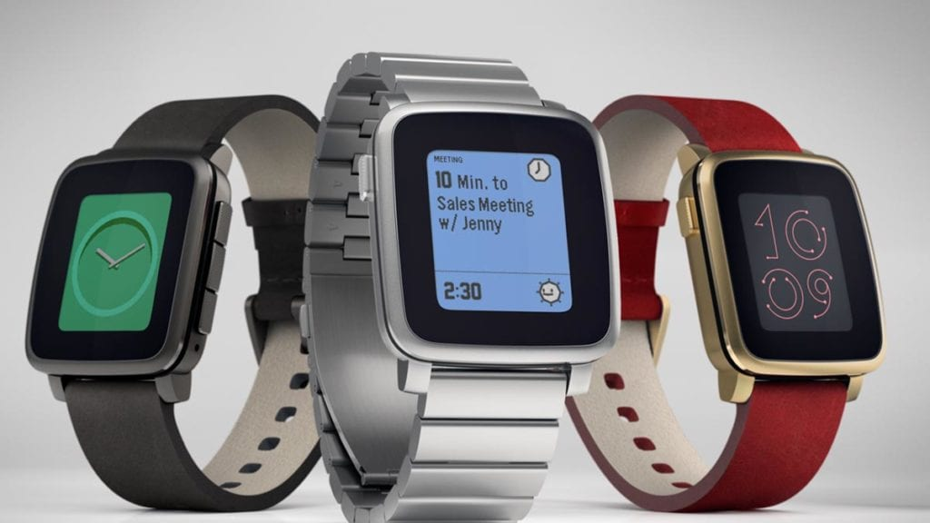 Pebble Time Kickstarter campaign