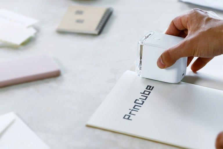 PrinCube Printing on paper