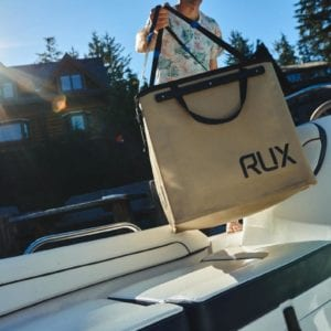 RUX- Packs Like a Box, Carries Like a Bag Product Shot