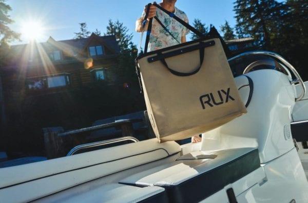 RUX- Packs Like a Box, Carries Like a Bag Product Shot