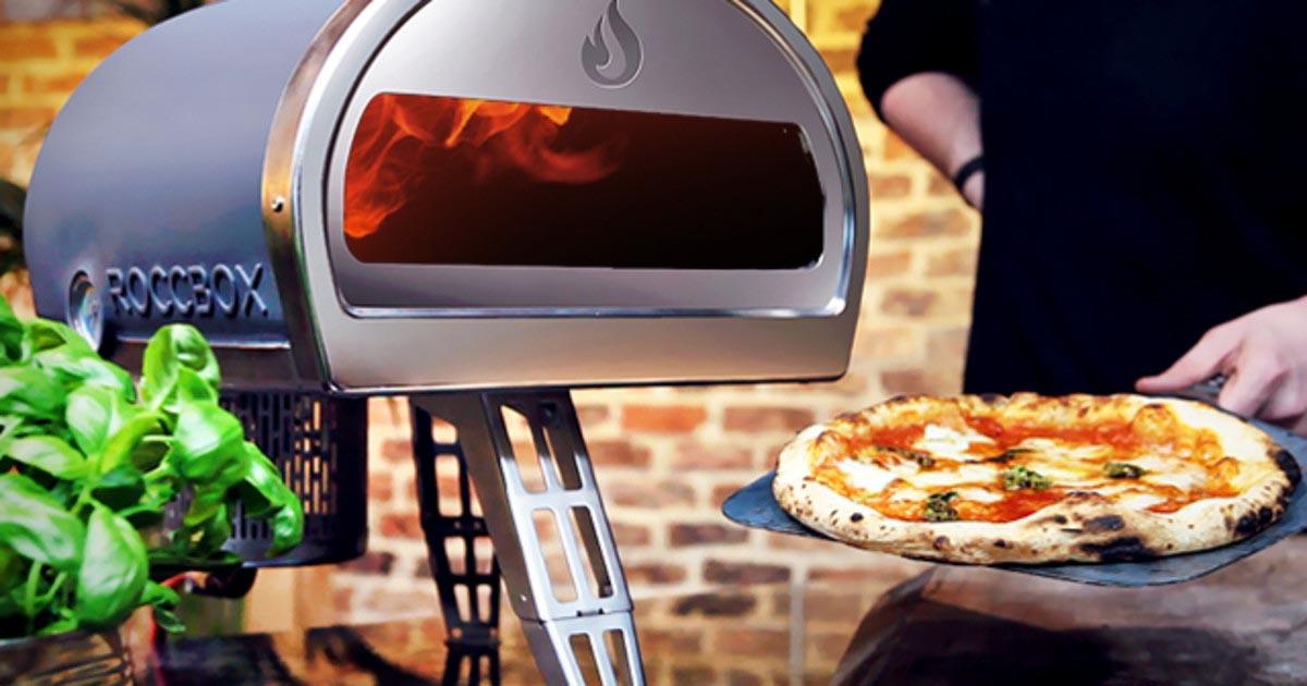 Roccbox Pizza Oven Lifestyle Shot
