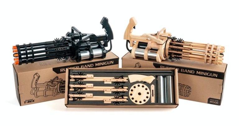 Rubber Band Minigun Both Version