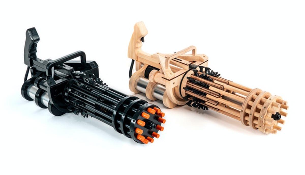 Rubber Band Minigun Product Shots