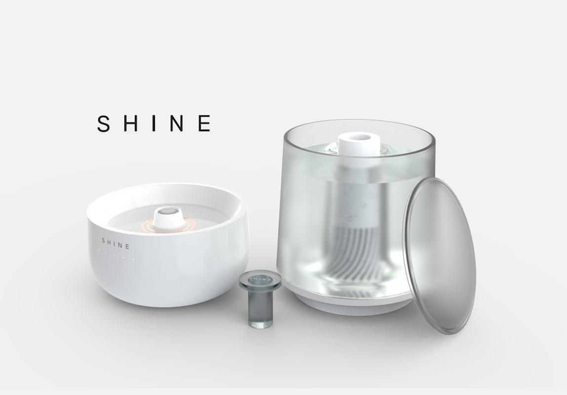 Shine individual parts