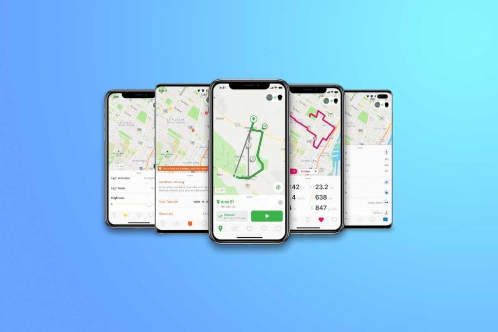 SmartHalo 2 Mobile App