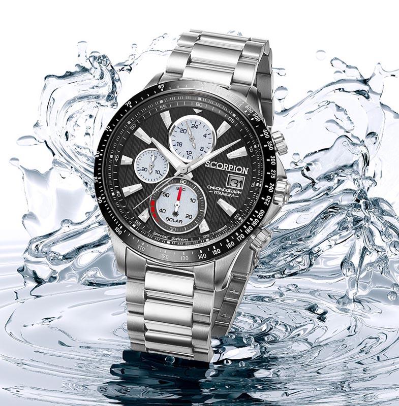 Solar Watch V3 on Wrist