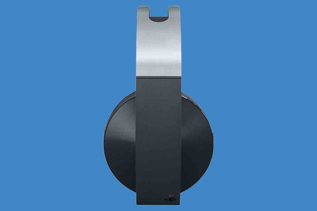 Sony PlayStation 4 Platinum Wireless Headset Side