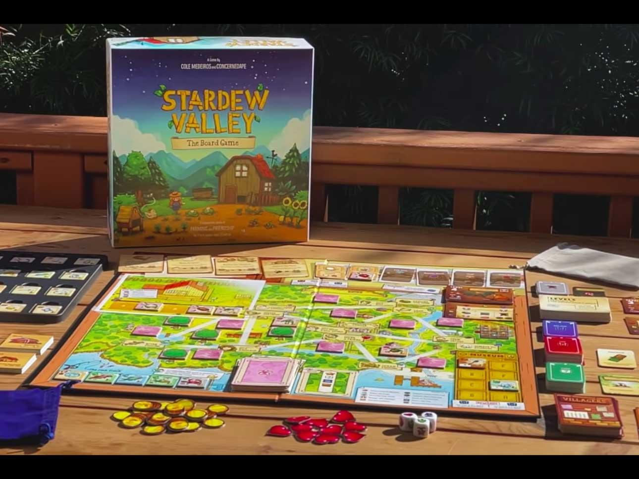Stardew Valley Board Game Layout