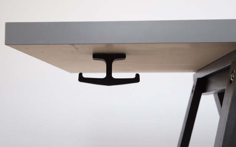The Anchor Under-desk Headphone Stand and Mount