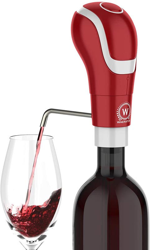 WAERATOR Instant 1-Button Electric Aeration and Decanter Wine Pourers,