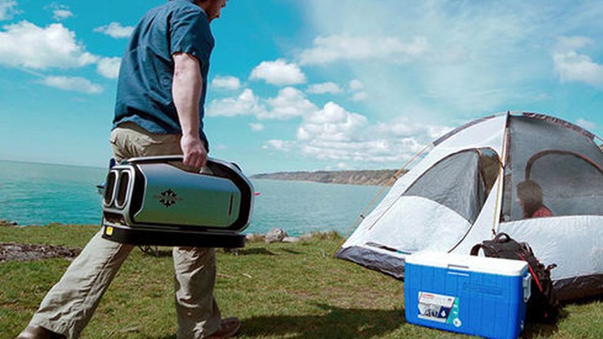 Zero Breeze Mark II Camping Use