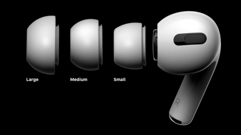 airpods pro stem sizes