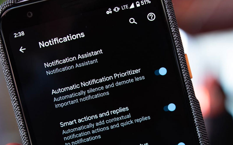 Android Notifications Management